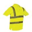 Polo Shirt - Polyester class 2 polo shirt.