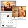 God's Gift Calendar with Funeral Pre-Planning Sheet - Spiral - Spiral, 12-month 2015 calendar with Roman Catholic observances.