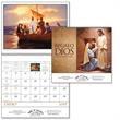 Regalo de Dios - Spiral - Spanish version, 2015, 12-Month, calendar with funeral pre-planning form.