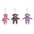 "Custom 6"" Sock Monkey Key Chain Assortment"