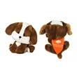 """6"""" Bell WB Dog with bandana and one color imprint"""