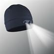 POWERCAP LED Lighted Beanie Hats (Navy) - Navy 100% Compression Fleece, blank