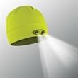 POWERCAP LED Lighted Beanie Hats (Hi-Viz Yellow) - Hi-Viz Yellow 100% Compression Fleece, blank