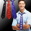 Sequin LED Neckties