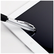 Twist action plastic stylus pen with full color process