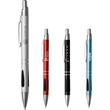The Kennedy Pen - Retractable, ballpoint pen with aluminum barrel and clip.