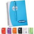 """5"""" x 7"""" Sun Spiral Notebook with Pen"""