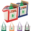 Lighthouse 24-Can Non-Woven Tote Cooler - Lighthouse 24-Can Non-Woven Tote Cooler