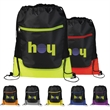 The Libra Drawstring Cinch Backpack