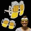 Beer Mug Sunglasses - Novelty sunglasses with beer mug shaped lenses.