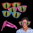 Jumbo Cat Eye Billboard Sunglasses - Jumbo plastic billboard sunglasses with cat eye lenses.
