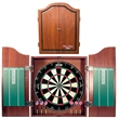 Dartboard with Cabinet Set