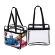 NFL APPROVED CLEAR STADIUM TOTE - NFL APPROVED CLEAR STADIUM TOTE - Clear security stadium tote approved by the NFL.