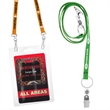 Recycled 3/8 inch Screen Printed Dual Attachment Lanyard