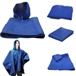4 in 1 Blanket, Blue - 4 in 1 Blanket, Blue