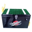 Astroturf football cooler with field goal - Astroturf football cooler with field goal