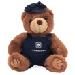 """8"""" Engineer Bear with one color imprint"""