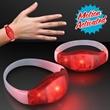 Light Up Red LED Motion Activated Bracelets