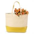 Isaac Mizrahi (TM) Evelyn Tote - Bone and sunflower colored tote.