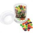Glass Jar with Trail Mix - Glass Jar with Trail Mix