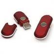 512MB Stick USB Flash Drive With Oval Shape - 512MB ABS plastic USB 2.0 flash drive, PC/MAC compatible.