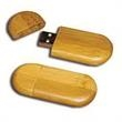 32MB Bamboo USB Flash Drive - 32MB USB flash drive, bamboo.