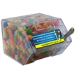 Large Candy Bin Dispenser with Chicle Chewing Gum - Large candy dispenser house shaped bin with chicle chewing gum.