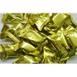 Gold Foil Toffee - Gold Foil Toffee - Small Individually Wrapped Creamy Hard Candies.  A Great Item For Desk Top Candy Dishes. Blank.