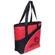 Fashion Thermo Tote Bag - Fashion Thermo Tote Bag. Two tone polyester cooler tote Bag.  Straps for carrying on the shoulder.