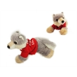 """8"""" Woolsey Wolf with tshirt one color imprint"""