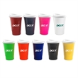 16 oz Double Wall Insulated Party Cup with Lid