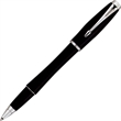 Urban Laque Black CT Roller Ball Pen - Roller ball pen with chrome plated trim fitted with medium point black ink.