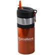 27 oz Aluminum Water Bottle with Straw & Carabiner