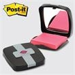Post-it Custom Printed Note Holder - Black Compact - 2 color