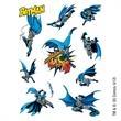 Warner Brothers: Batman Temporary Tattoo Assortment Sheet - Warner Brothers: Batman Temporary Tattoo Assortment Sheet