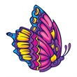 Beautiful Butterfly Temporary Tattoo - Beautiful Butterfly Temporary Tattoo