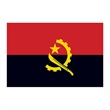 Angola Flag Temporary Tattoo - Flag of Angola Temporary Tattoo