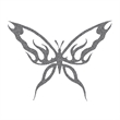 Glitter Black Butterfly Temporary Tattoo - Glitter Black Butterfly Temporary Tattoo