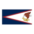American Samoa Flag Temporary Tattoo - Flag of American Samoa Temporary Tattoo