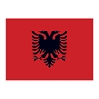 Albania Flag Temporary Tattoo - Flag of Albania Temporary Tattoo