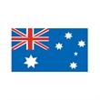 Australia Flag or Australian Flag - Australia Flag Temporary Tattoo