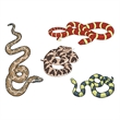 Assorted Snakes Temporary Tattoo - Assorted Snakes Temporary Tattoo