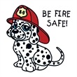 Be Fire Safe Temporary Tattoo - Be Fire Safe Temporary Tattoo