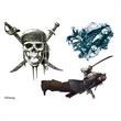 Pirates of the Caribbean Temporary Tattoos - Pirates of the Caribbean Temporary Tattoos