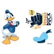 Set of Donald Duck Temporary Tattoos - Set of Donald Duck Temporary Tattoos