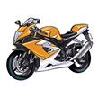 Motorcycle Temporary Tattoo - Motorcycle Temporary Tattoo