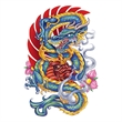 Apalala Dragon Temporary Tattoo - Apalala Dragon Temporary Tattoo