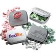 Sugar Free Wintergreen Mints in Embossed Pocket Mint Tin