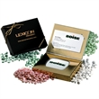 Pocket mint tin in credit card gift box with mints - Pocket mint tin in credit card gift box with mints