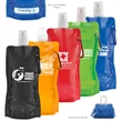 18 oz Foldable Water Bottle With Matching Carabiner